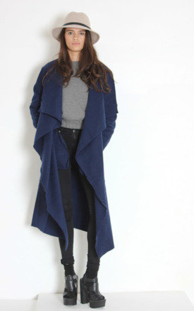Flo coat navy by Never Fully Dressed Product photo
