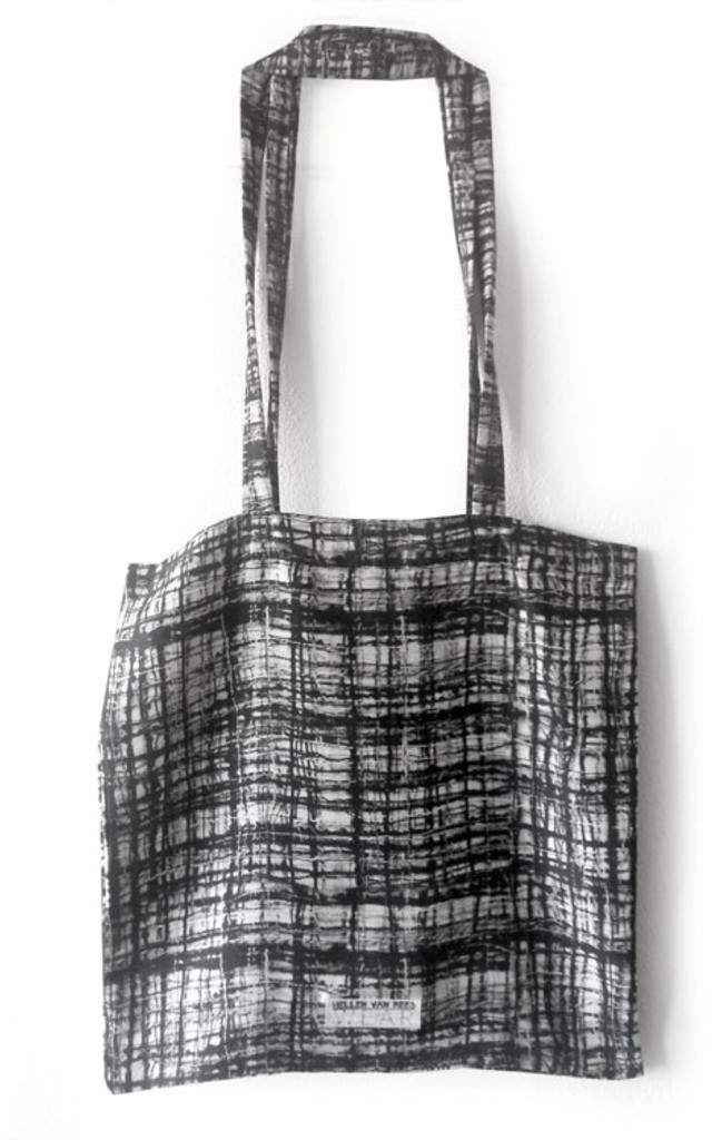 Thunderbird Silk Tote Bag by Hellen van Rees