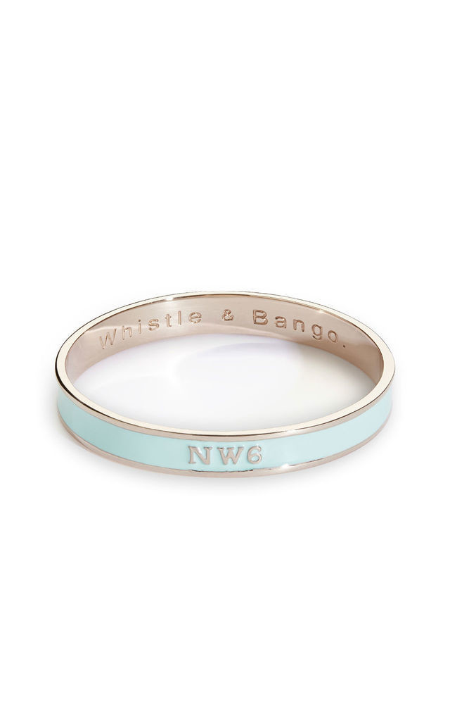 NW6 Postcode Bangle by Whistle & Bango