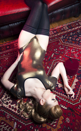 Dazzle body - old gold by Playful Promises Product photo