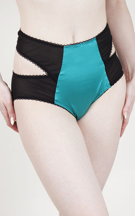 Twisted circus teal brief - limited edition by Playful Promises Product photo