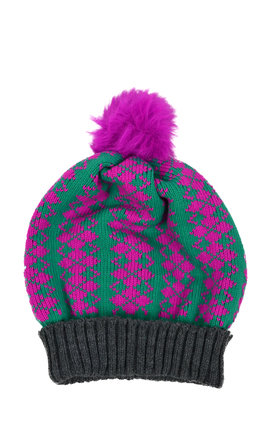 Fairisle bobble hat by Get Crooked Product photo