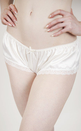 Classic ivory french knicker by Playful Promises Product photo