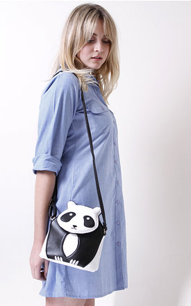Panda corssbody bag by Liquorish Product photo