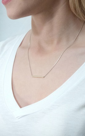 Sea tube necklace by TADA & TOY Product photo