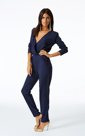 Stardust jumpsuit in navy by Dancing Leopard Product photo