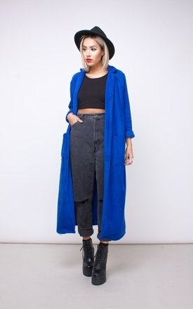 Fleeced duster coat by House of Jam Product photo