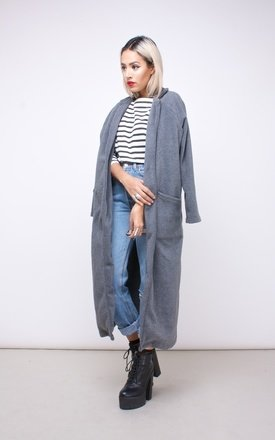 Fleece duster coat by House of Jam Product photo