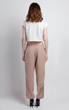 Light crepe trousers by Lanti