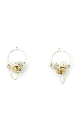 Samorn gold earring by Kat&Bee Jewellery Product photo
