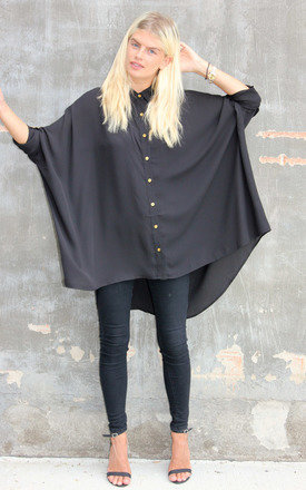Black shirt alexandra by Never Fully Dressed Product photo