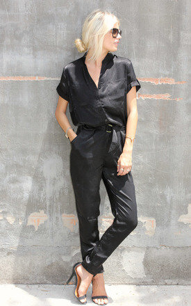 D jumpsuit black by Never Fully Dressed Product photo