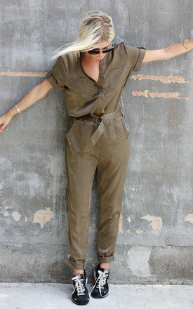 D jumpsuit khaki by Never Fully Dressed Product photo