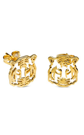 Tiger earrings by Maria Pascual Product photo