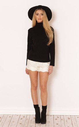 Marcia ribbed polo jumper top by Dolly Rocka Product photo