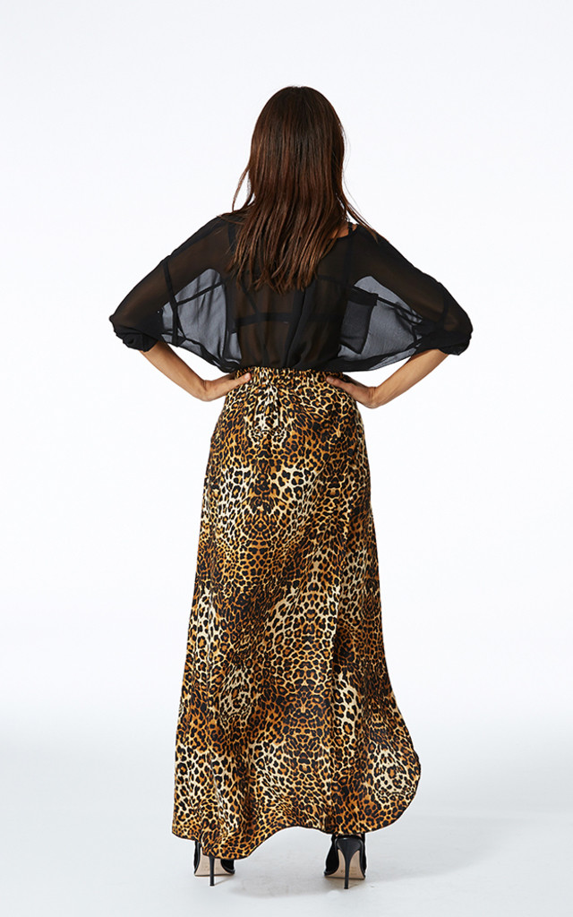 Fishtail Skirt in Leopard by Dancing Leopard