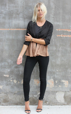 Black frill jacket by Never Fully Dressed Product photo