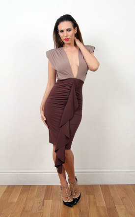 Kim -  ruched front with a round backless by Sarvin Product photo