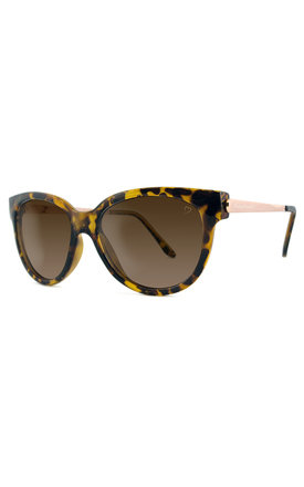 Elegant yellow tort sunglasses by Ruby Rocks Sunglasses Product photo