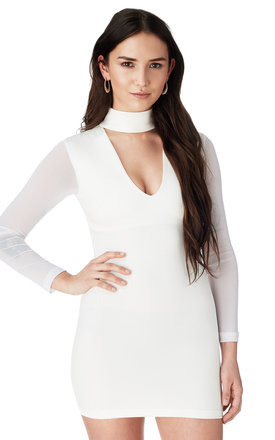 White v cut dress by Bill and Mar Product photo