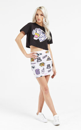 Galaxies mini skirt by Illustrated People Product photo