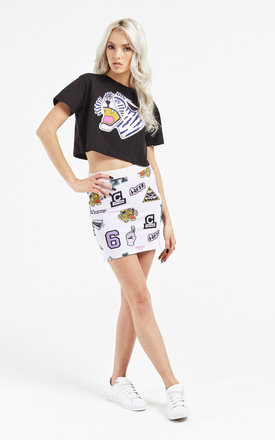 Tigers loose fitting crop by Illustrated People Product photo