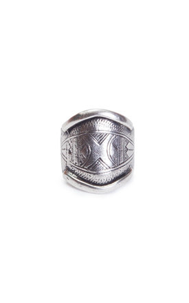 Etched tuareg ring by MHART Product photo