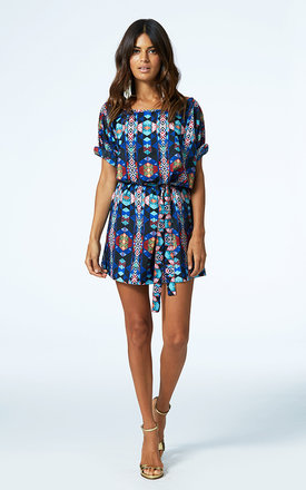 Ibiza dress in psycadelic print by Dancing Leopard Product photo
