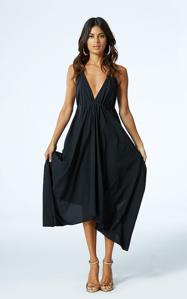 Boho Maxi in Black image