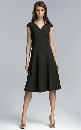 Black midi dress by Lanti Product photo