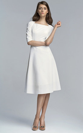 3::4 sleeve dress by Lanti Product photo