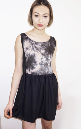 Inka tie dye dress by Silence Beyond Syllables Product photo
