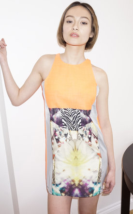 San print dress by Silence Beyond Syllables Product photo