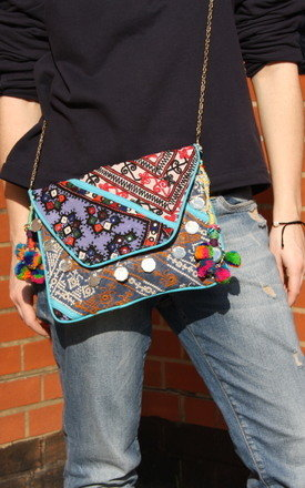 Blue banjara clutch iii by be-snazzy Product photo