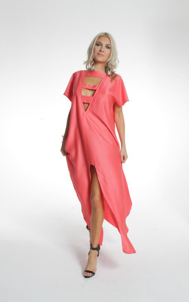 Red ibiza kaftan by ILL DISCIPLINED Product photo