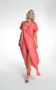 Red Ibiza Kaftan by ILL DISCIPLINED