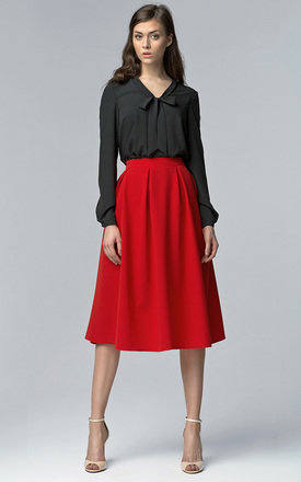 Midi skirt with pockets by Lanti Product photo