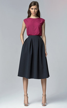 Midi skirt withpockets by Lanti Product photo