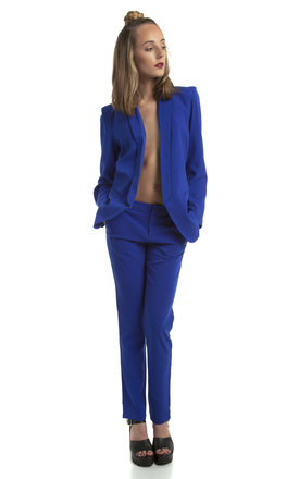 Cobalt powersuit blazer by We Run This Product photo