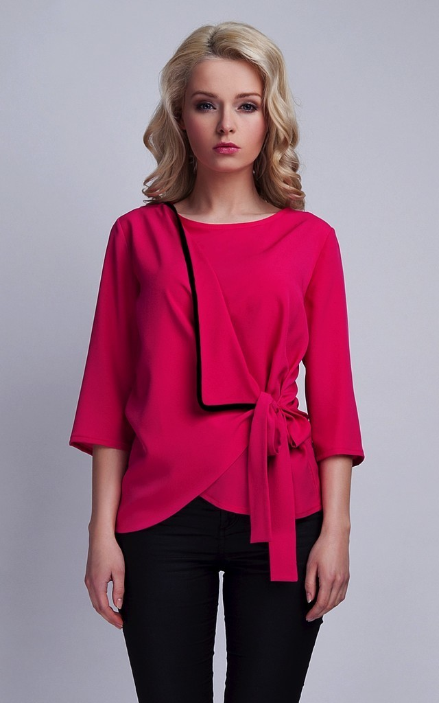 Wrapped blouse by Lanti