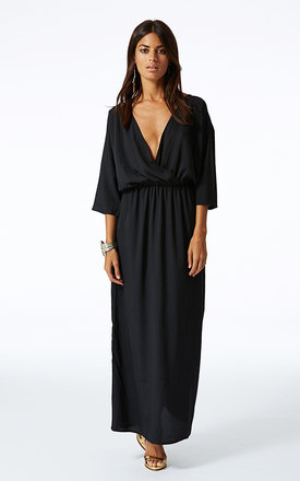 Kimono maxi in black by Dancing Leopard Product photo