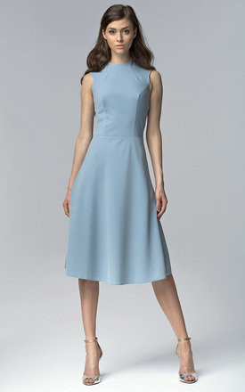 Blue midi dress by Lanti Product photo