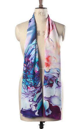 larena luxury long scarf by Leanne Claxton Product photo