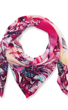 Larena oversized luxury scarf by Leanne Claxton Product photo