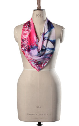 Larena luxury neck scarf by Leanne Claxton Product photo
