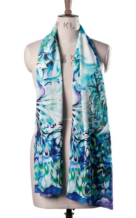 Malay luxury long scarf by Leanne Claxton Product photo