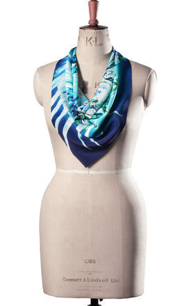 Malay luxury neck scarf by Leanne Claxton Product photo