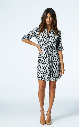 Mini shirt dress in leopard by Dancing Leopard Product photo