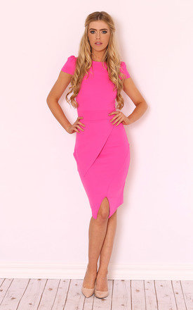 Rose asymmetric midi dress by LullaBellz Product photo