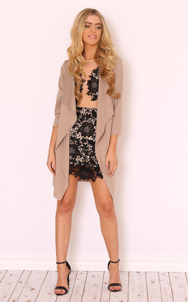 Quinn nude summer jacket by LullaBellz Product photo